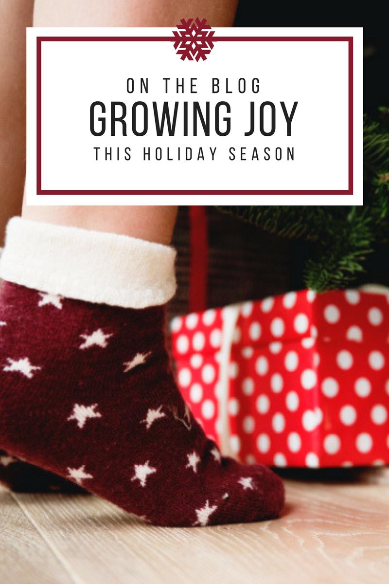 Growing Joy This Christmas
